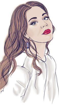 illustration Ulyana Sergeenko