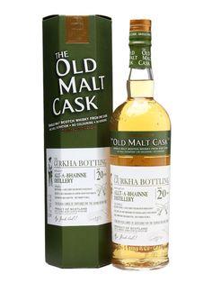 Allt-a-Bhainne 20 Year Old / Gurkha Bottling / Old Malt Cask : Buy Online - The Whisky Exchange