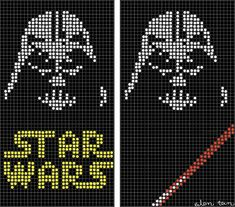 eilen tein Double Knitting Patterns, Knitted Mittens Pattern, Modern Cross Stitch Patterns, Knitting Charts, Afghan Crochet Patterns, Loom Patterns, Loom Knitting, Cross Stitch Designs, Star Wars Crochet
