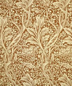 Arcadia wallpaper, by William Morris (V&A Custom Print)