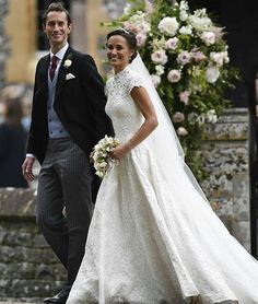 Pippa Middleton marries James Mathews