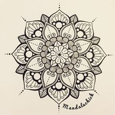 Mandala design have a lovely day mandala simple mandala art mandala stencil Mandala Doodle, Mandala Arm Tattoo, Tattoo Henna, Henna Art, Doodle Art, Tattoo Art, Henna Mandala, Tattoo Thigh, Mandalas Tattoos