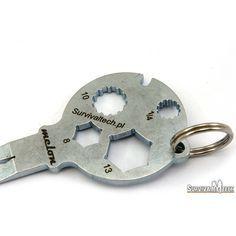 screwdriver hex nut keychain