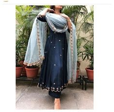 Indian Fashion Dresses, Dress Indian Style, Indian Gowns, Indian Attire, Punjabi Fashion, Indian Ethnic Wear, Punjabi Suits Designer Boutique, Indian Designer Suits, Designer Salwar Suits