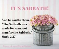 Sabbath is all about Yeshua. Enjoy!