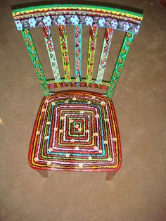 Useable Art Chair by cosetsbest on Etsy, $1200.00