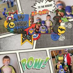 Layout using {Super Heroes} Digital Scrapbook Kit by Magical Scraps Galore available at Gingerscraps and ScrapsNPieces http://store.gingerscraps.net/Super-Heroes.html http://www.scraps-n-pieces.com/store/index.php?main_page=product_info&cPath=66_152&products_id=8743 #digiscrap #digitalscrapbooking #memorykeeping #MSG #magicalscrapsgalore