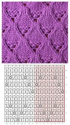 Not sure what this pattern is called but i love it! Baby Knitting Patterns, Lace Knitting Stitches, Knitting Charts, Lace Patterns, Knitting Socks, Stitch Patterns, Arm Knitting, Knitting Tutorials, Knitting