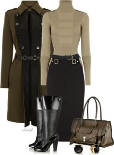 """Military Inspired"" by christa72 on Polyvore"