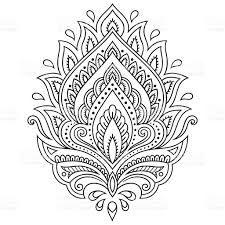 Tattoo mandala flower mehndi 36 ideas for 2019 tattoo is part of Henna drawings - Mandala Tattoo Design, Dotwork Tattoo Mandala, Mandala Drawing, Henna Mandala, Paisley Drawing, Lotus Henna, Paisley Doodle, Lotus Mandala, Drawing Flowers