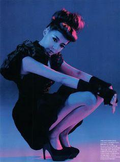 2NE1 Dara Bom CL Minzy Numero Magazine Photoshoot