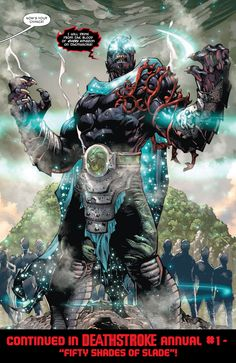 This Just Happened: You Wanted To Kill A God, Slade... | DC Comics