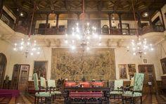 Gran Hall, Palacio Errazuriz Alevear.