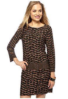 Donna Morgan Bell Sleeve Shift Dress #belk #shiftdress