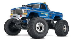 1/10 Bigfoot Classic 2WD Monster Truck RTR, Blue