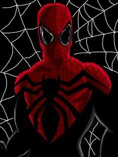 Superior Spider-Man - Full Digital Art (new suit) by chrismas-81 ...