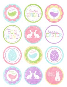 Sweet Coconut Lime: Free Easter Printables
