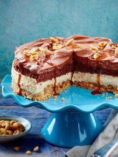 Erdnuss-Karamell-Schoko-Torte