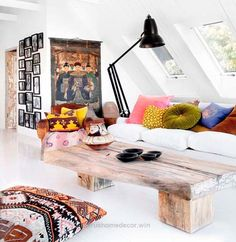 Splendid Ethnic Chic interior design, incorporating colors and textures from around the world. The post Ethnic Chic interior design, incorporating colors and textures from ..