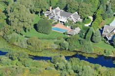 """Sagaponack Serenity On Coveted Parsonage Pond"" Hamptons Real Estate"