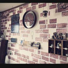 観葉植物/照明/リメイクシート/セリア/Studio Clip/ドラセナコンシンネ…などのインテリア実例 - 2015-04-02 03:59:10 | RoomClip(ルームクリップ)