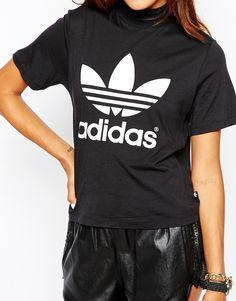 Image 3 ofadidas Originals Berlin High Neck T-Shirt