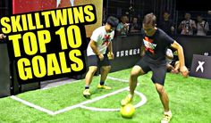 ✪SkillTwins✪  Top Ten Amazing Goals | Freestyle football goals | Futsal ...