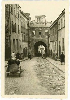 Lublin 1941 Poland Prague Old Town, Jewish History, My Kind Of Town, Old City, Old Photos, Ukraine, Poland, Places Ive Been, History