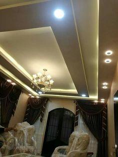 Home Ceiling, Pop Design, Interior, Bedroom False Ceiling Design, Gypsum Decoration, Plafond Design, Ceiling Light Design, Roof Design, Wainscoting Styles