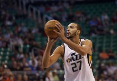 3079708e8 Utah Jazz center Rudy Gobert is the most likely candidate from the 2013  draft class to receive a contract extension with his team before the end of  the.