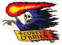 Santa Curz Corey O'Brien Sticker