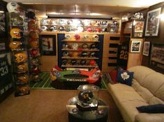Man Caves Bert The Conqueror : Diy unfinished basement hangout spaces from man caves