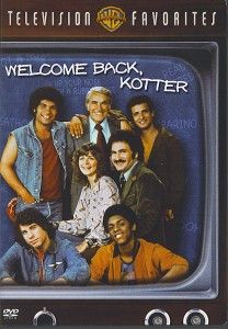 Welcome Back, Kotter is an American television sitcom starring Gabe Kaplan and featuring a young John Travolta. Videotaped in front of a live studio audience, it originally aired on the ABC network from September 9, 1975, to June 8, 1979. Also Marcia Strassman John Sylvester White Robert Hegyes Lawrence Hilton-Jacobs Ron Palillo Melonie Haller (Season 3) Stephen Shortridge (Season 4)