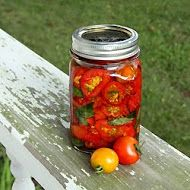 Olive Oil Packed Sun Dried Tomatoes with Basil - Recipe