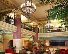 The Hilton President. Ideal spot for a reception in KC