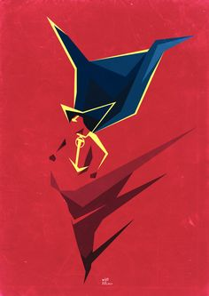 Red Tornado / Poster by ~Colour Only 85 on deviantART