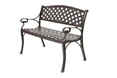 Free Cast Aluminium Garden Bistro Set or Bench when buying one of our 6 seater garden furniture sets or above Metal Outdoor Bench, Metal Garden Benches, Garden Furniture Sets, Outdoor Furniture, Garden Bench Cushions, Porch Bench, Wrought Iron Bench, Buy Chair, Cool House Designs