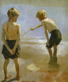 Study+for+the+Boys+Playing+on+the+Shore.+1884.+Oil+on+canvas.+40x33cm.jpg 600×726 pixels