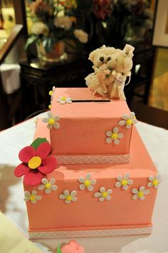 Ang Bao Box with Wedding Bears $60 by Agnes Leong, via Flickr