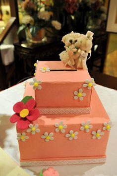 Ang Bao Box with Wedding Bears $60 by Agnes Leong, via Flickr