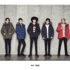 WINNER are all bundled up with 'NII' jackets in new promotional campaign