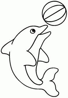 32 Ideas Patchwork Molde Cachorro For 2019 Dolphin Coloring Pages, Fish Coloring Page, Animal Coloring Pages, Colouring Pages, Coloring Pages For Kids, Coloring Books, Applique Templates, Applique Patterns, Applique Designs