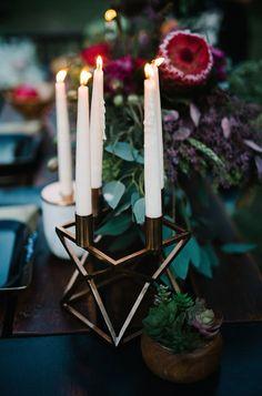 #modern #candleholder #bronze @weddingchicks
