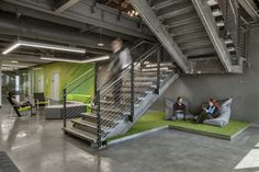 Rox Chairs from Davis Furniture in the ACTIVE Dallas office - designed by IA Interior Architects