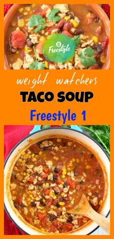 weight watchers taco soup - a