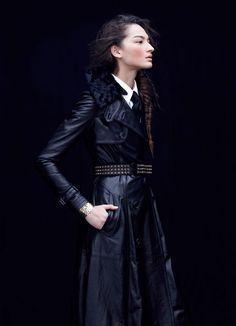 Love that coat... Model: Bruna Tenorio | Photographer: Blair Getz Mezibov - for Style Magazine, Dec 2011