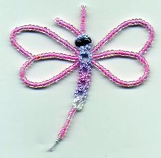 Free pattern: Tatted dragonfly · Needlework News | CraftGossip.com