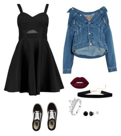 """Untitled #16"" by mckenzy106 on Polyvore featuring Boohoo, Balenciaga and Vans"
