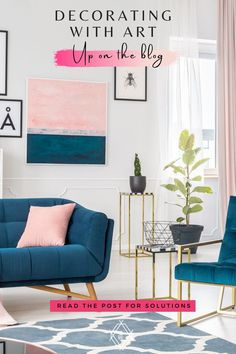 Professional design tips to decorate your home with art you love. Rental Property, Property Listing, Urban Street Art, Boho Designs, White Walls, Wall Colors, Decorating Your Home, Design Trends, Color Pop