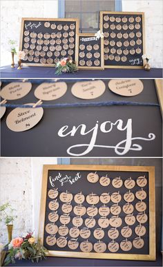 escort card diy ideas #escortcards #diy #weddingchicks http://bit.ly/1hIzW7C